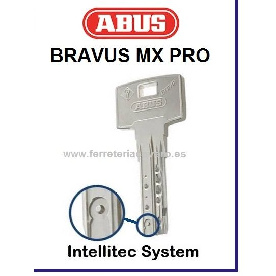 Barra ABUS BRAVUS 50MXS23 143mm Descentrada