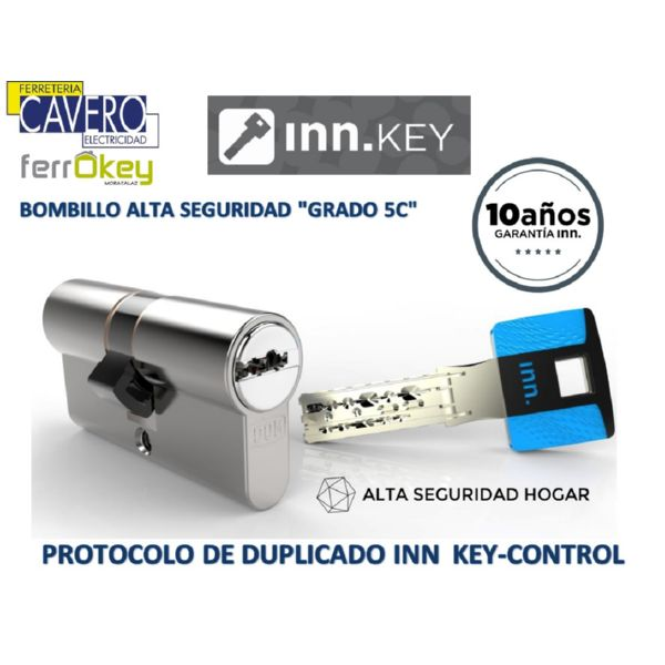 BOMBILLO INN.KEY ANTIBUMPING 30-30 60mm DOBLE EMBRAGUE ORO K.CONTROL