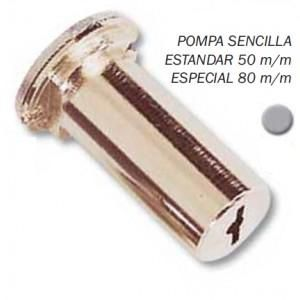 BOMBILLO SEGURIDAD CR SENCILLO CROMO 50mm
