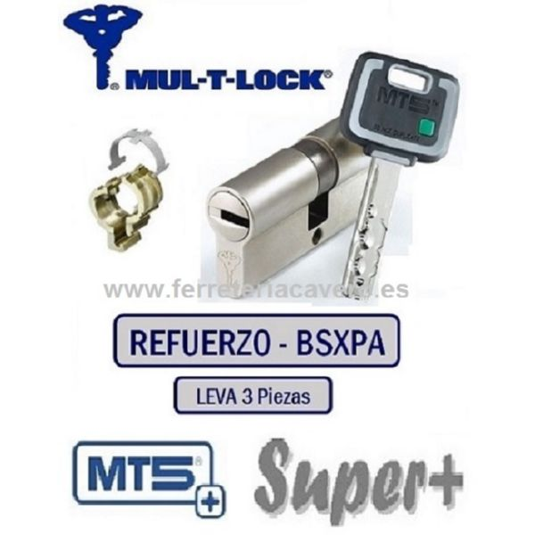 CILINDRO MT5+ SUPER PLUS 33+38 71mm MULTLOCK REFORZADO LATON