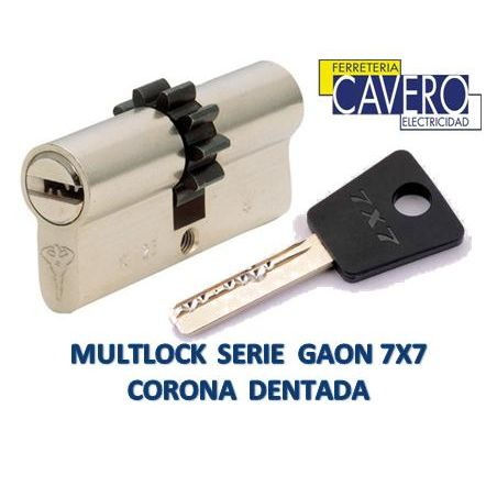 CILINDRO MULTLOCK GAON 14D 33-33 5 LLAVES