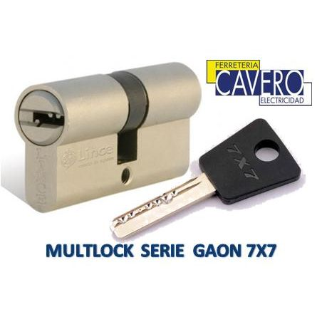 Cilindro MULTLOCK GAON 33+38 71mm