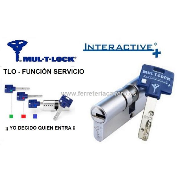 Cilindro MULTLOCK Interactive TLO 38+48 86mm Servicio