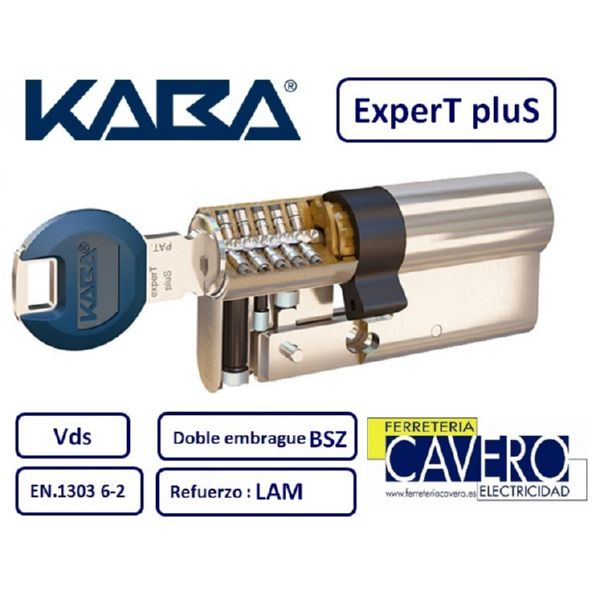 CILIONDRO KABA 30+30 60mm EXPERT PLUS LAM DOBLE EMBRAGUE LATON