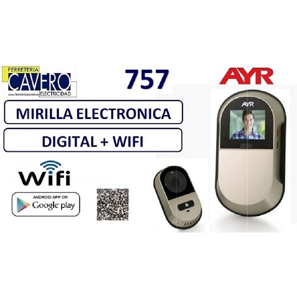 MIRILLA DIGITAL AYR WIFI 757 2.0