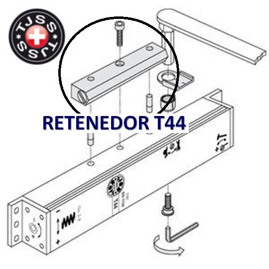 RETENEDOR REGULABLE TJSS NOVO T44 15º A 180º